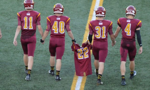 Football: Capital wins emotional 1st game for fallen teammate in dramatic fashion!