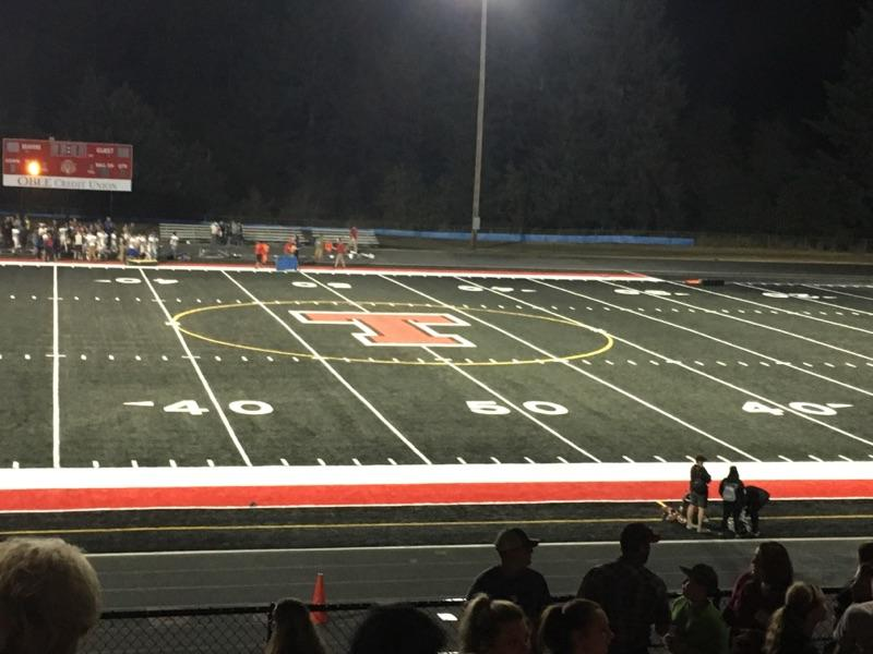 Football: Rochester takes the 1st Scatter Creek Showdown on Tenino's new Home Turf