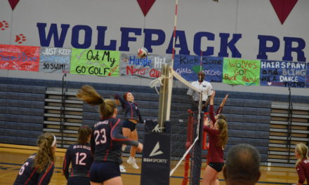Volleyball: Black Hills quick start to much for Bearcats