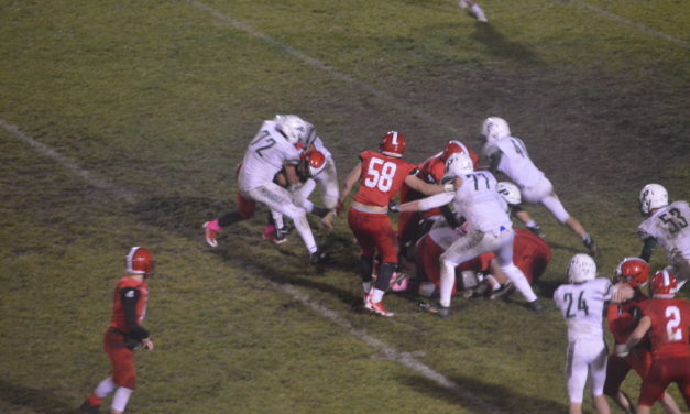 SSC Football: Peninsula survives a rough and tumble affair at Yelm