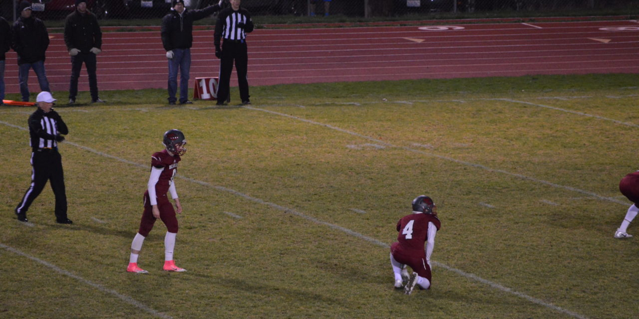 Football: Shoot-out in Chehalis ends off the foot of Bearcat Kicker