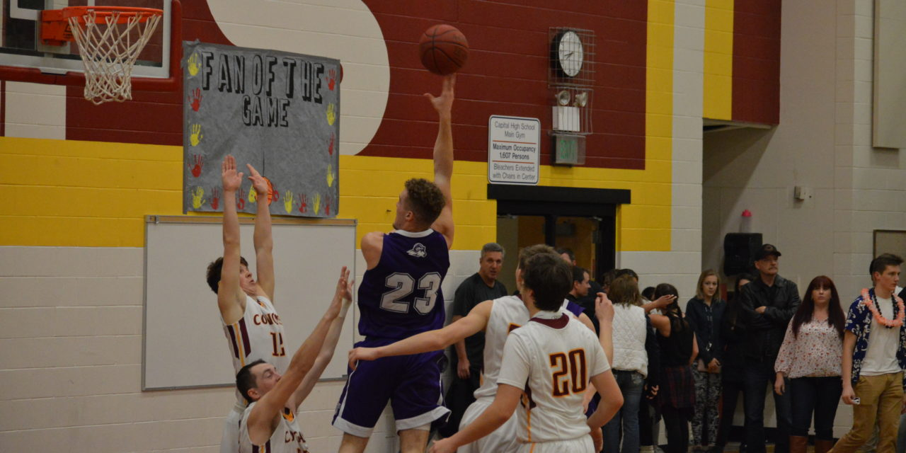 Boys Hoops: North Thurston digs deep for 11 straight win holds off Capital