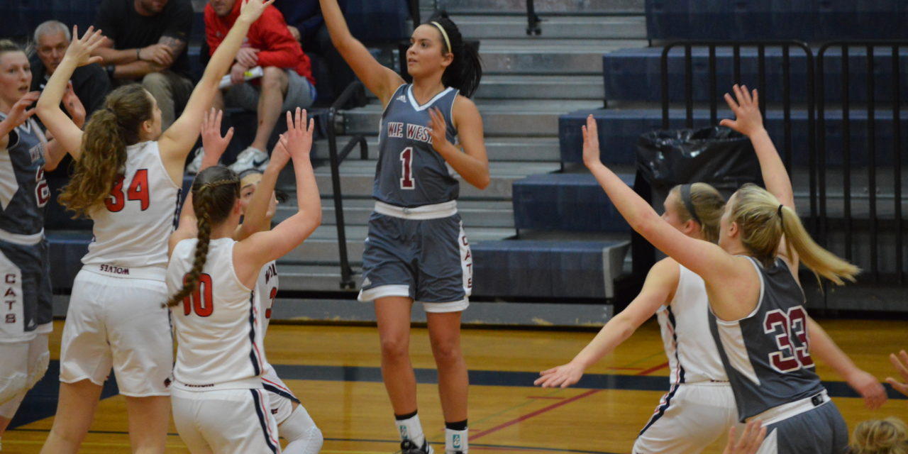 Girls Hoops: WF West starts 2nd half of EVCO 2A league play like they started, blowout win over Wolves