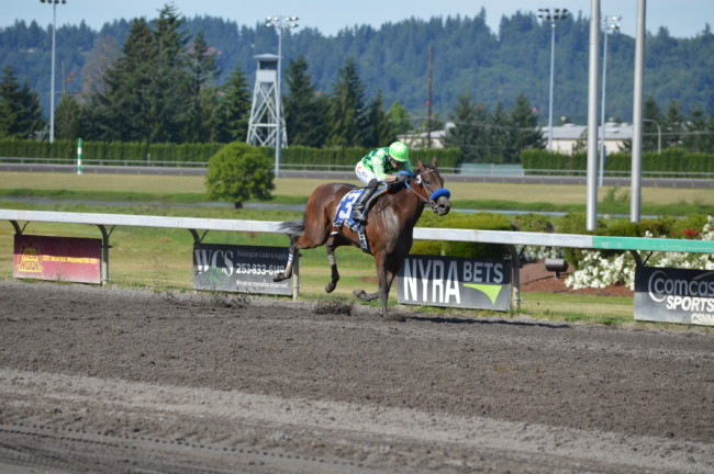 Emerald Downs: Top Quality shows Quality in Irish Day Stakes