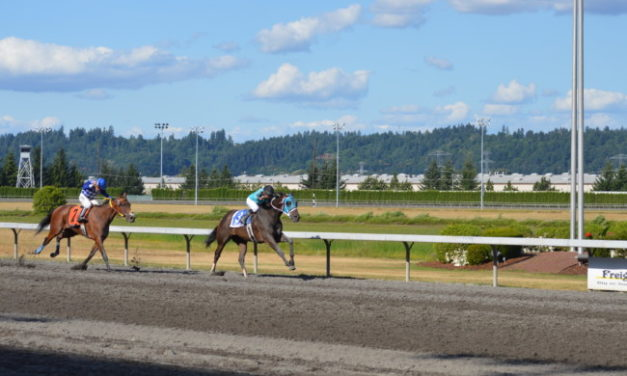 """Emerald Downs: No doubt this time Mach One """"Rules"""" the Day, joins 3 other Stake Champions on Sunday"""