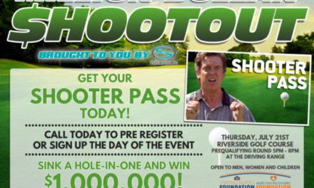 Win a $1,000,000 with 1 swing of the club at the Visiting Nurses Shootout!