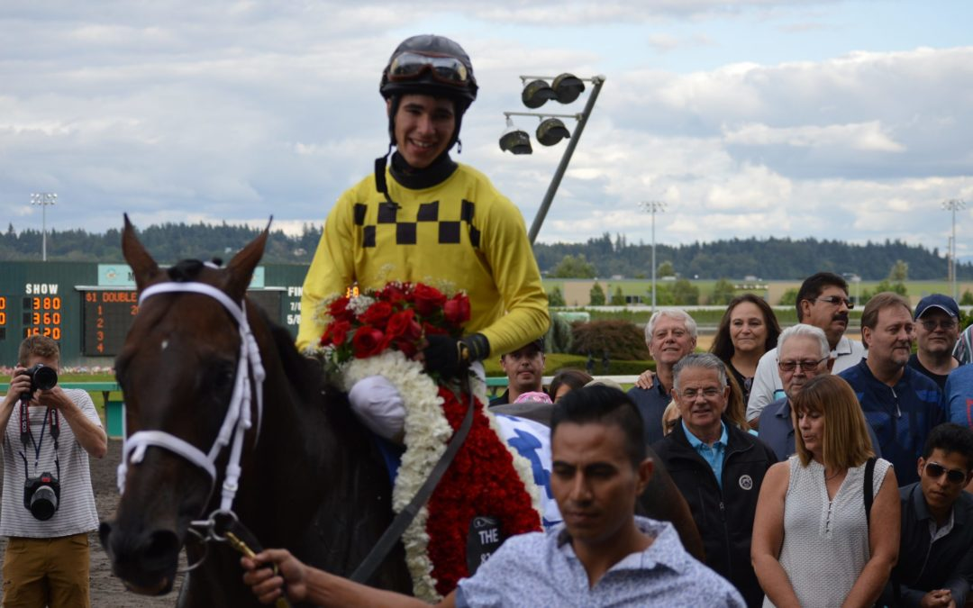 Emerald Downs: Mile Day