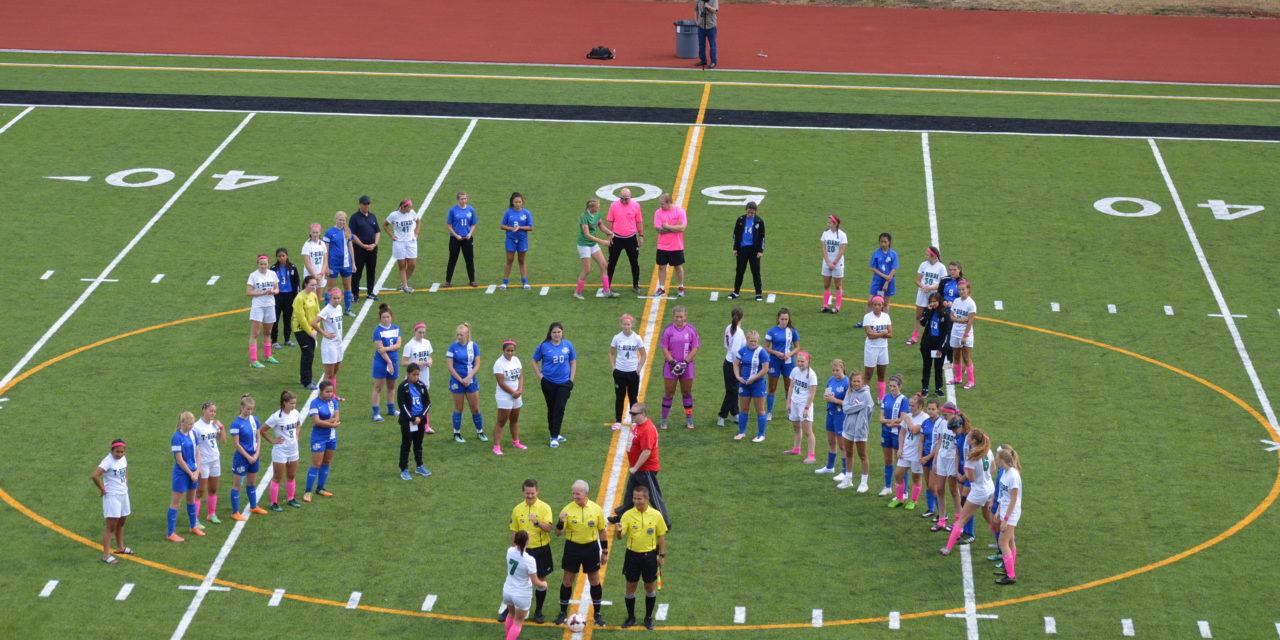 Soccer: T-Birds get win over Bulldogs in Cancer Awareness Match