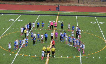 Soccer: T-Birds get win over Bulldogs in Cancer Awareness Match