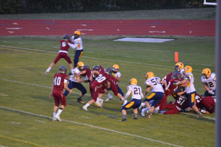 Football: Big 1st half propels Bearcats over the Bobcats in Evco 2A Opener