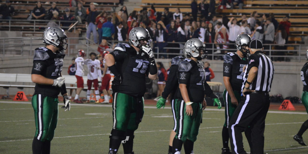 NPSL 4A Football: Conks' Hogs control Lancers pull away for big league Win!