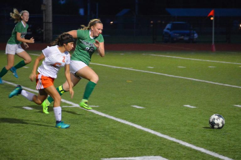 Girls Soccer: T-Birds 2nd half comeback nips Tigers