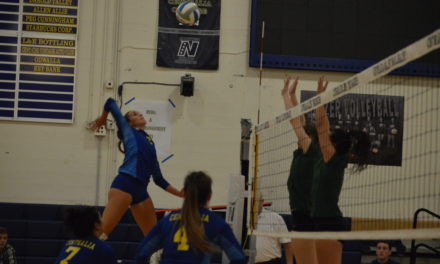 College Volleyball: Blazers drop to Highline but still in the hunt for Postseason