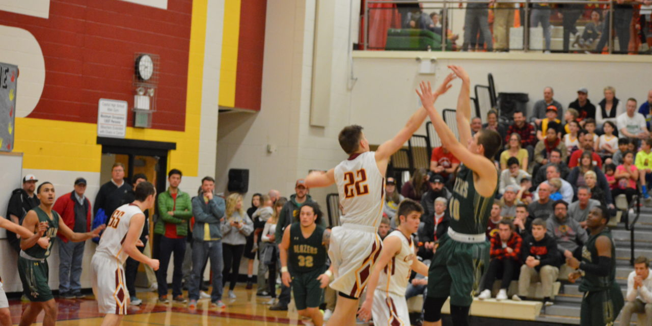 Boys Hoops: Blazers cranked for stretch run handle Cougars; Rams next