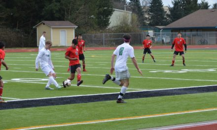 Soccer: Tumwater gracious hosts in Kicks for Cancer Match against Shelton