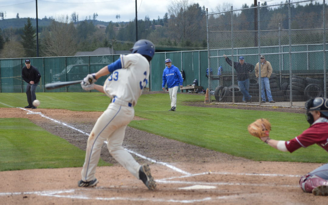 College Baseball: Blazers stumble late against Pierce as Raiders roll