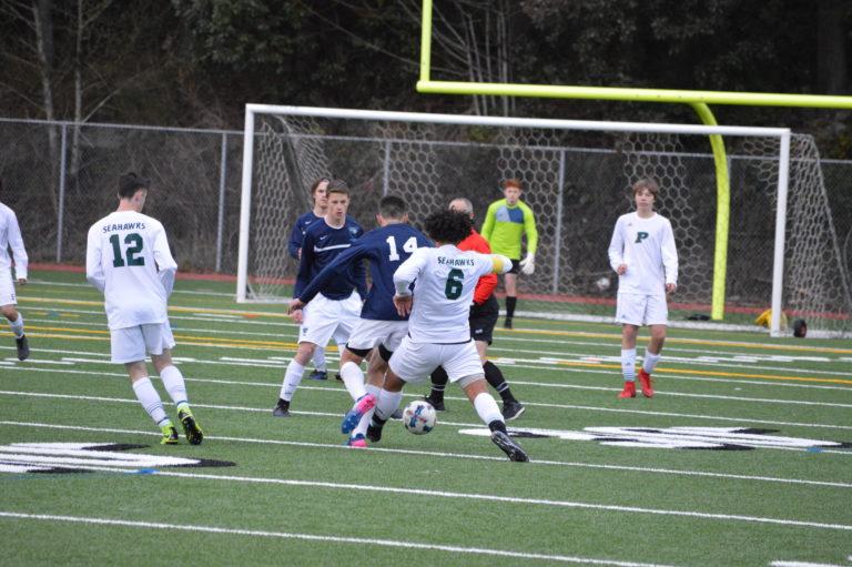 Soccer: Gig Harbor and Peninsula battle to scoreless tie