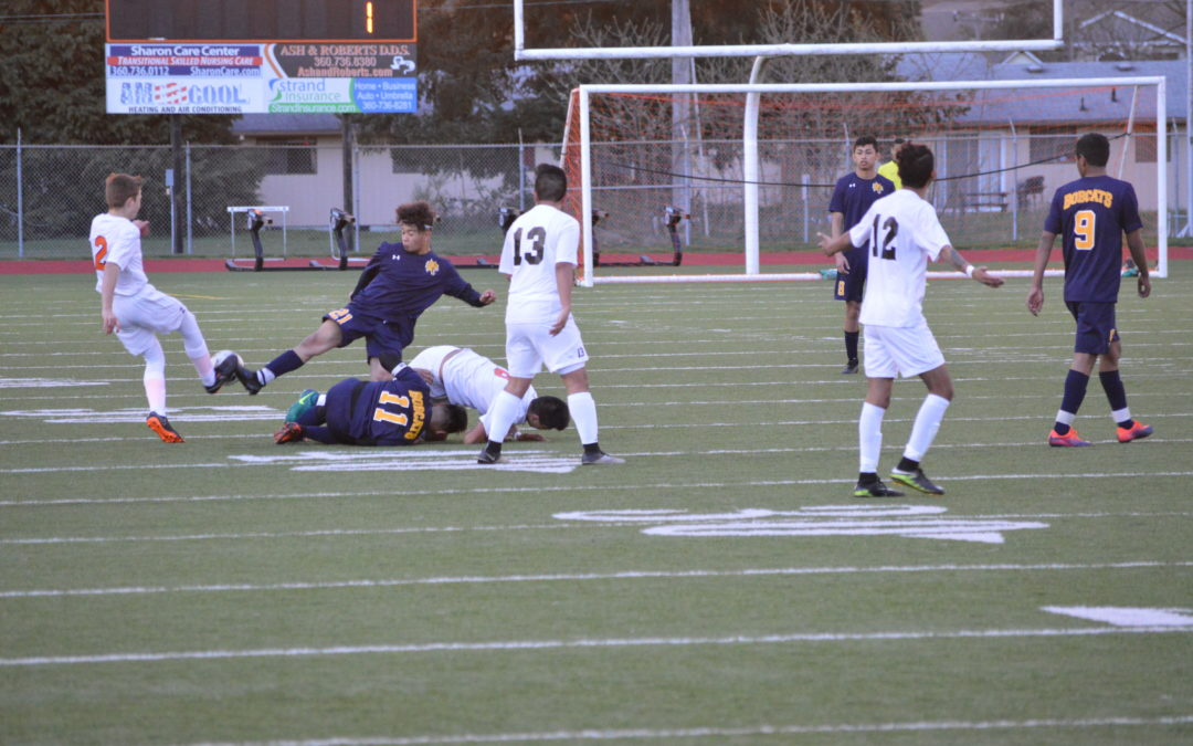 Soccer: Aberdeen rolls at Centralia in shut out fashion