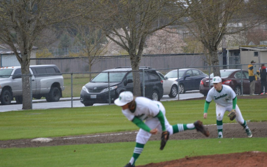 Baseball: T-Birds thrive on wet field roll over Bobcats
