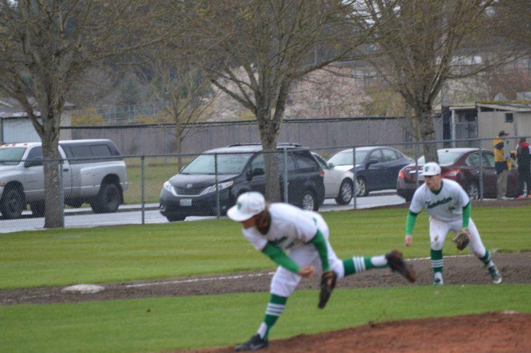 Baseball: T-Birds thrive on wet field roll over Bobcats