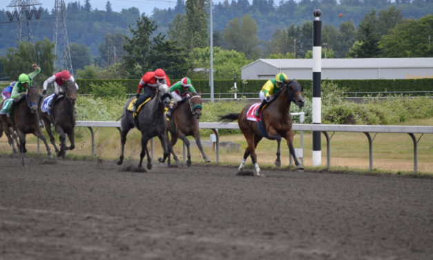 Only in Horse Racing can 90-year-old's compete with 25-year-olds and win!