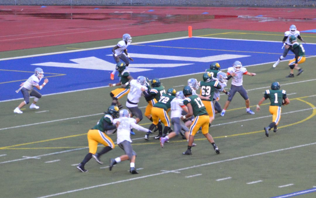 Football: Kentridge holds off late charge from AMV notches 2nd win