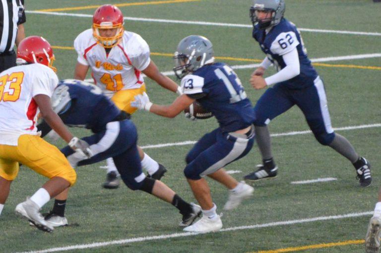 Football: River Ridge rolls past Mt Tahoma