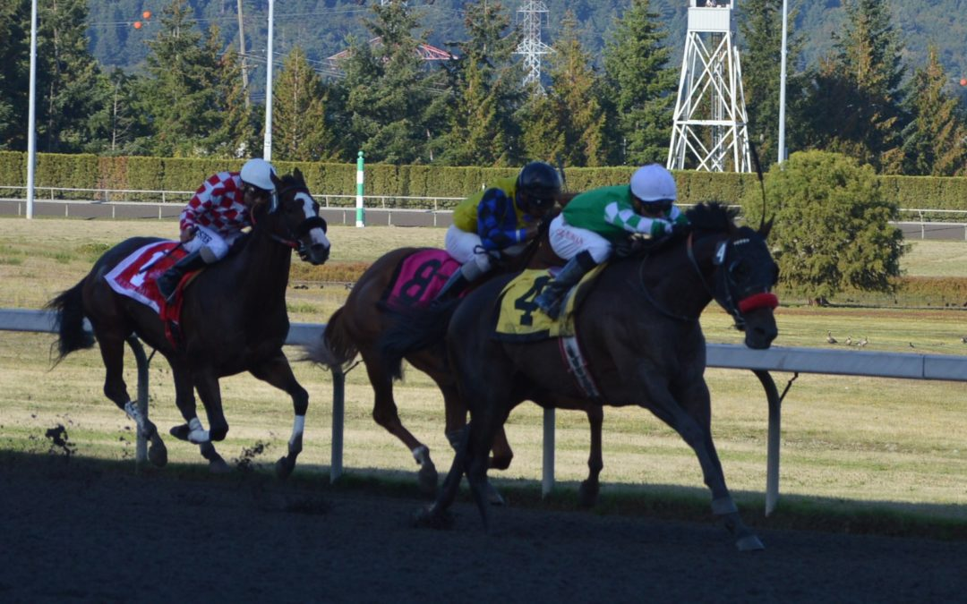 Closing Day at Emerald Downs! 4 Stakes Races were contested