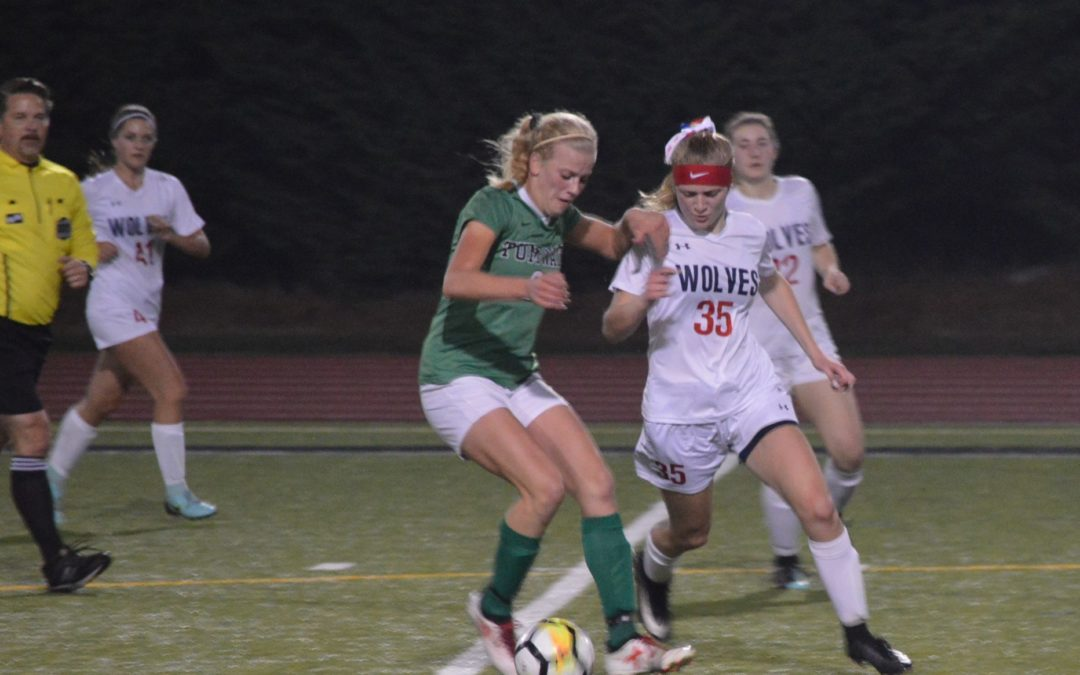 Soccer: T-Birds Clinch EVCO 2A Girls Title with 2-0 win over Black Hills