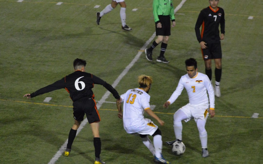 Boys Soccer: United and Centralia battle to a 2-2 Draw