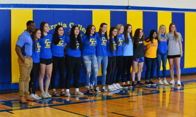 Centralia College Blazer Soccer welcomes new signees