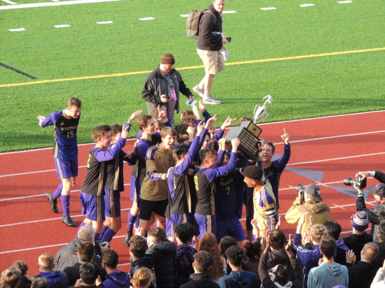 State Soccer Championships: Puyallup, Lakeside, Sehome and Vashon Island all take titles!