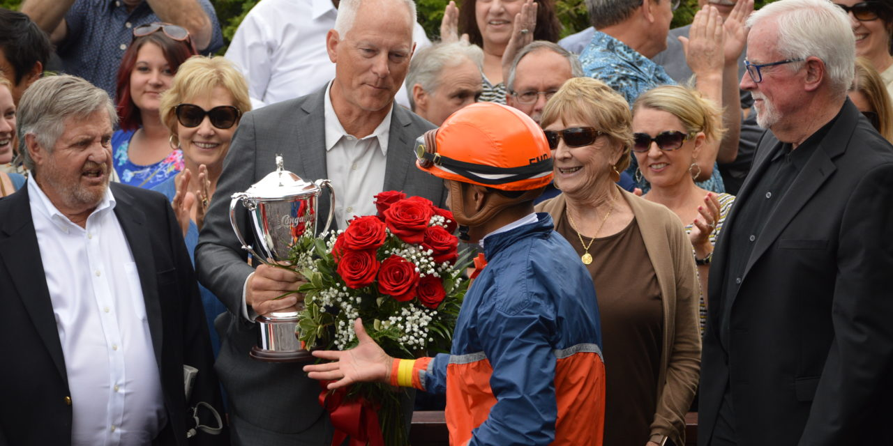 Emerald Downs: Law Abidin Citizen denies Anyportinastorm as invader takes the 84th Longacres Mile