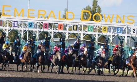 Week 3 at Emerald Downs, all the Numbers going the right Direction
