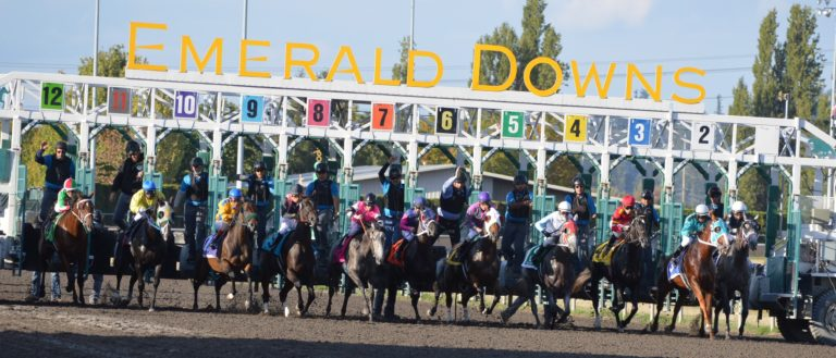 25th Season at Emerald Downs opens today!