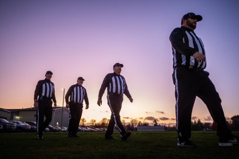 The Burner: Where did the refs go?
