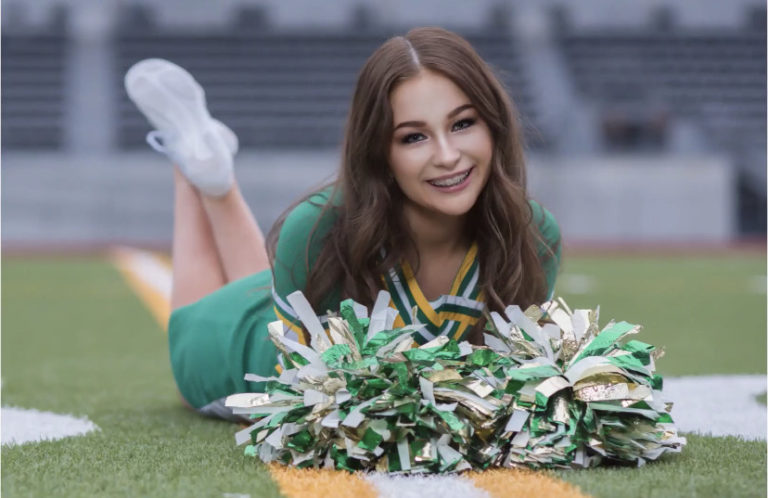 Tumwater's DuRussel Earns Her Fourth All-American Honor in Cheerleading